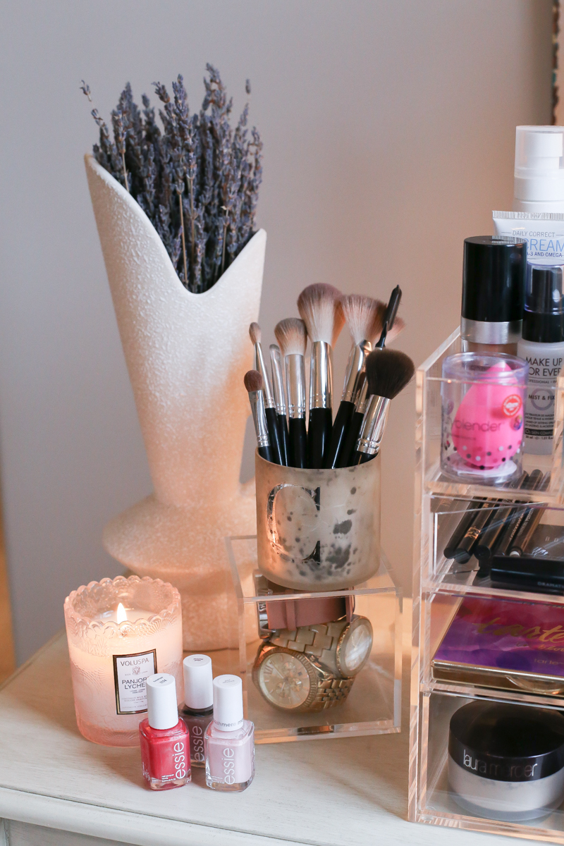 How To Organize Your Makeup Skincare Cristin Cooper