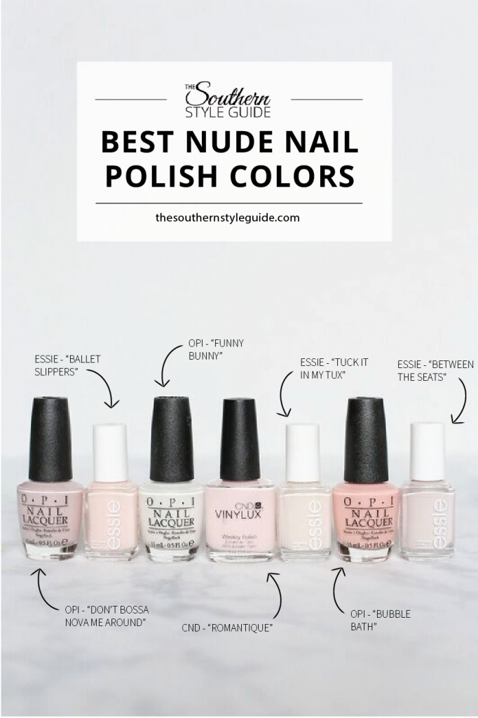 Best Nude Nail Polish | The Southern Style Guide