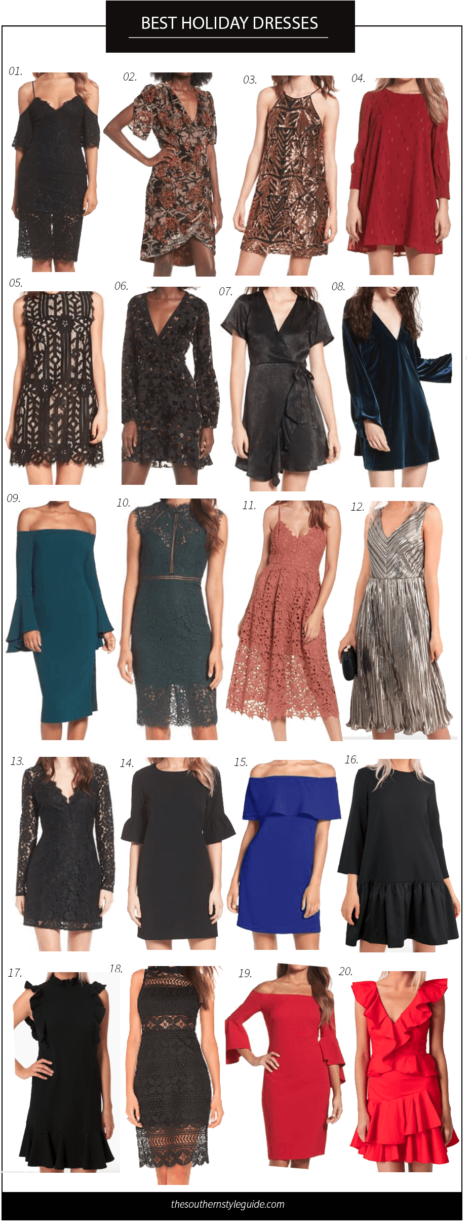Holiday Dresses, New Years, Christmas, Winter Dresses, Holiday Style