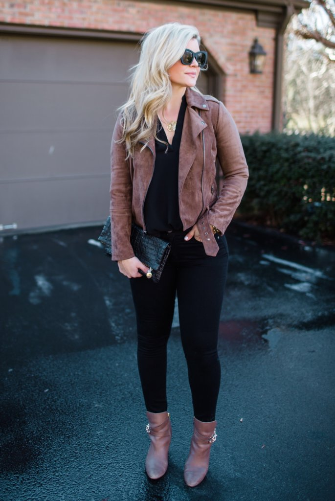 Black and Brown Outfit Idea