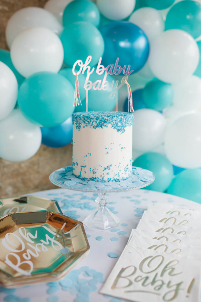 A baby boy sprinkle by Lifestyle blogger Cristin Cooper