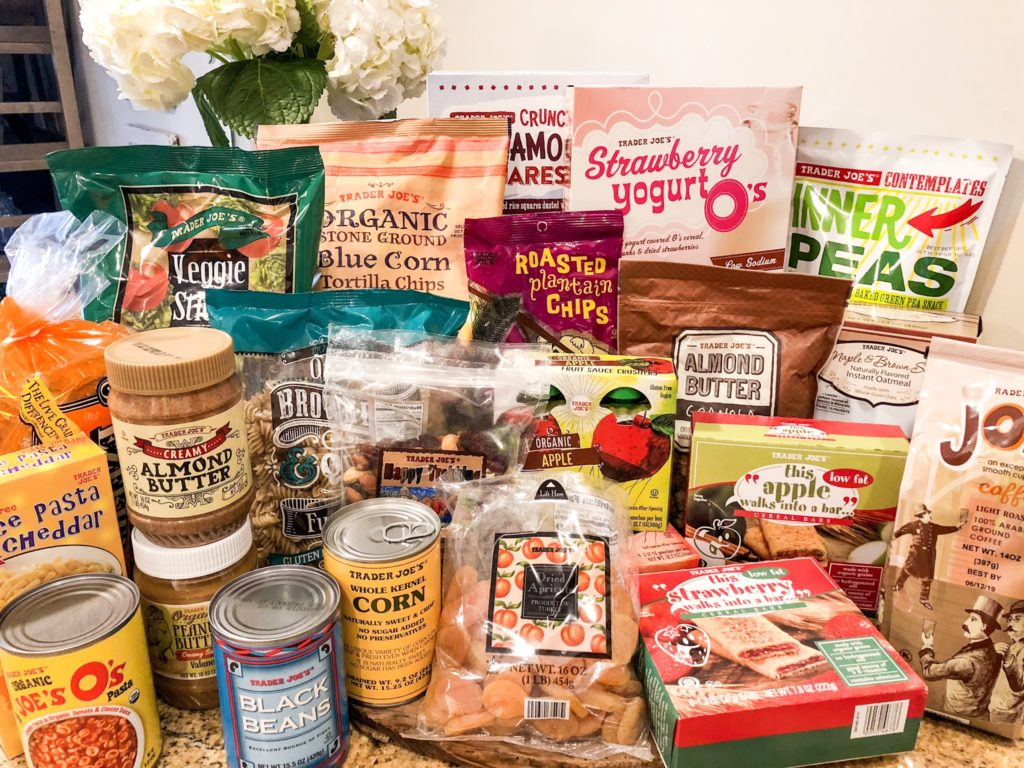 Ultimate Trader Joe's Haul from thesouthernstyleguide.com