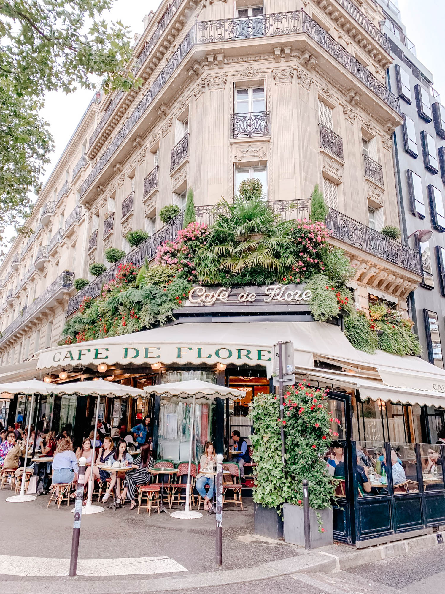 Cafe de Flore, Paris France