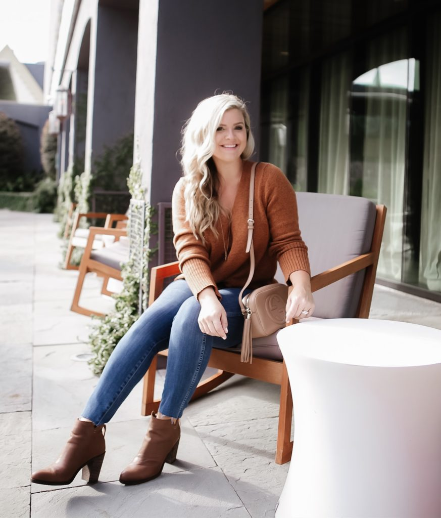 Something Navy Sweater, Fall Outfit from Nordstrom, Outfit Inspiration by Cristin Cooper