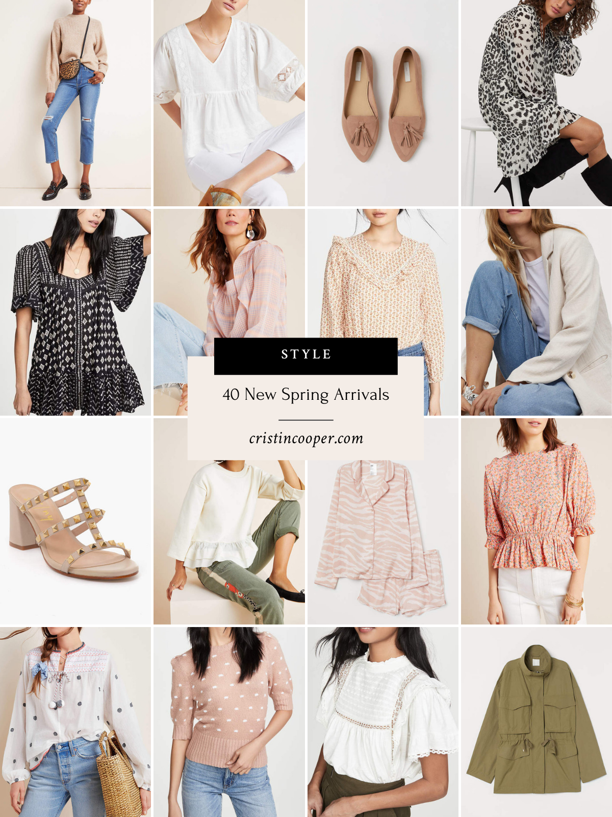 40 New Spring Arrivals