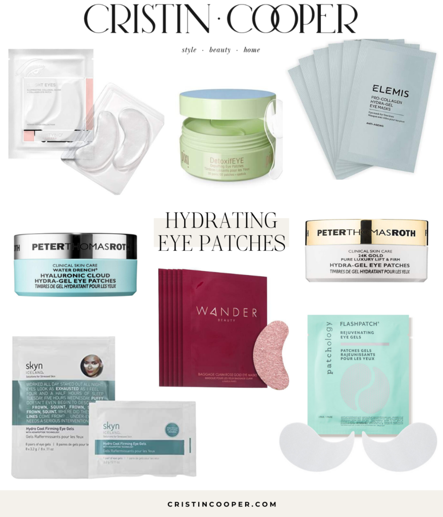 Hydrating eyp patches