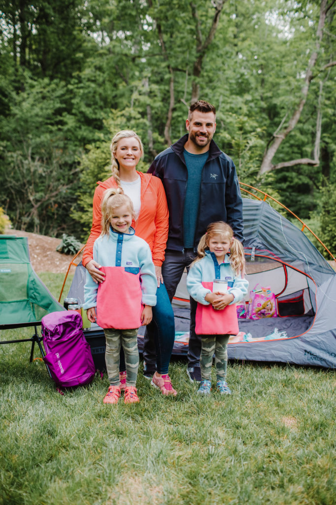 The Cooper family for Backcountry