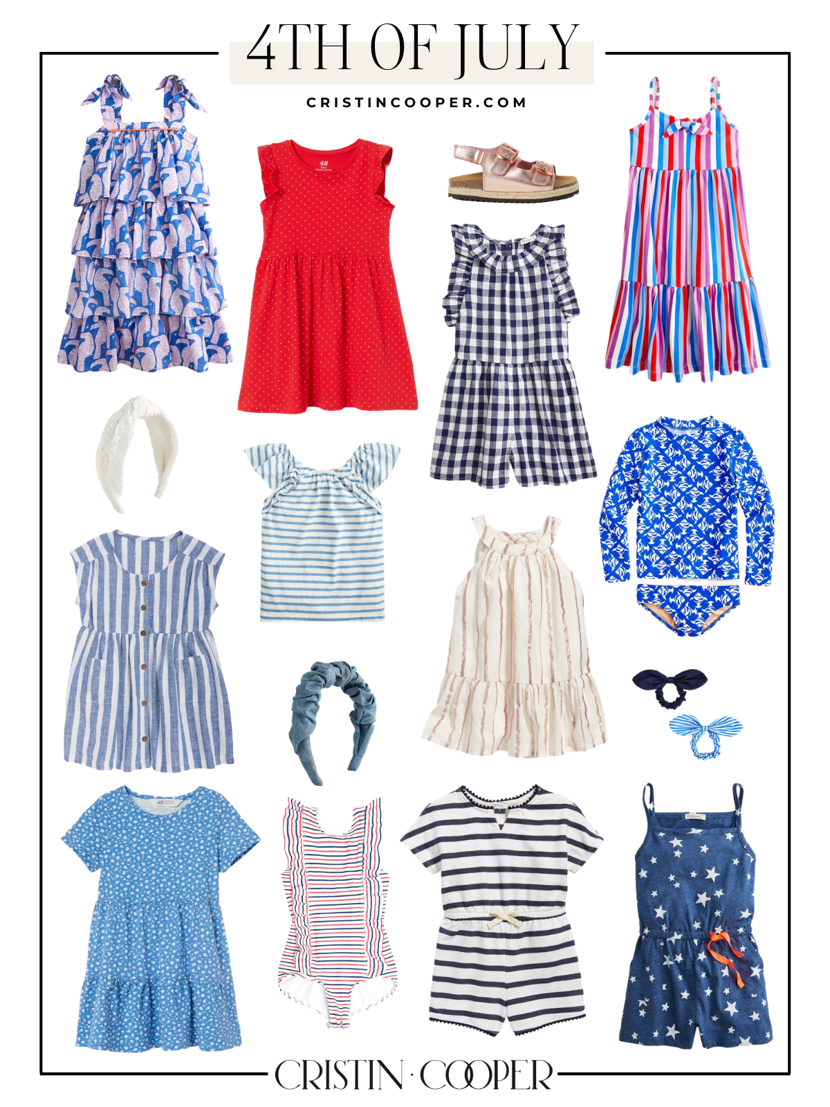 Kids 4th of July outfit ideas.