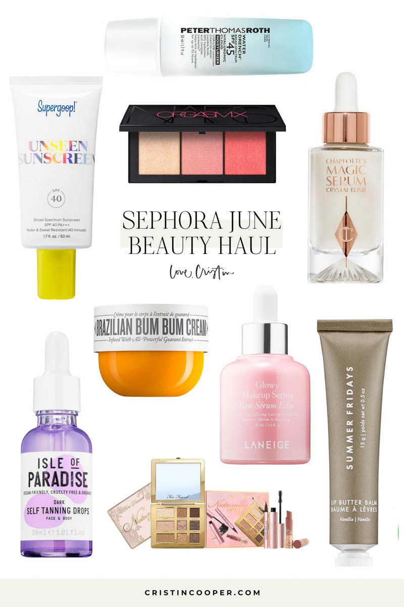Sephora June Haul
