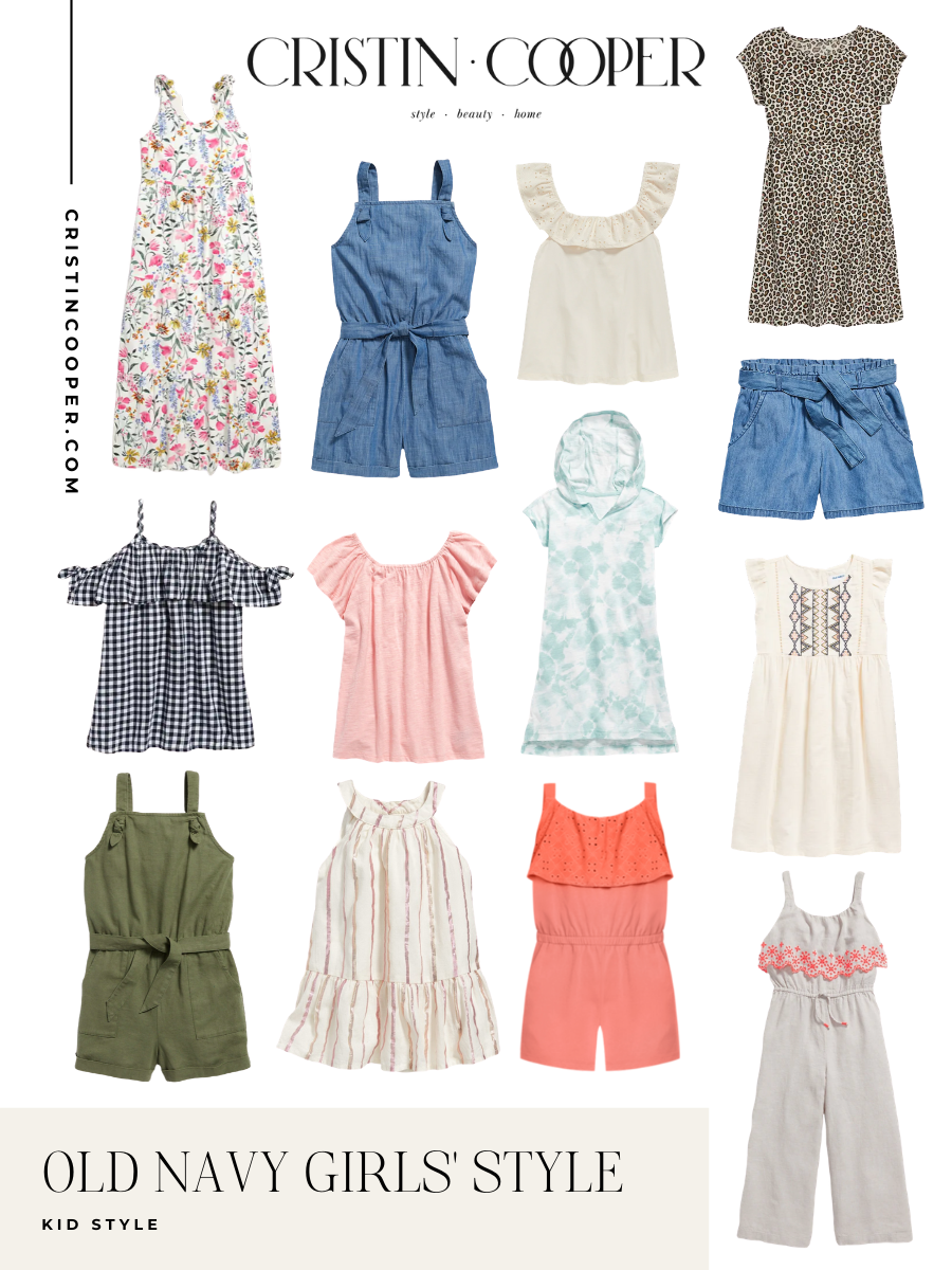 Old Navy Kids Clothes for Summer