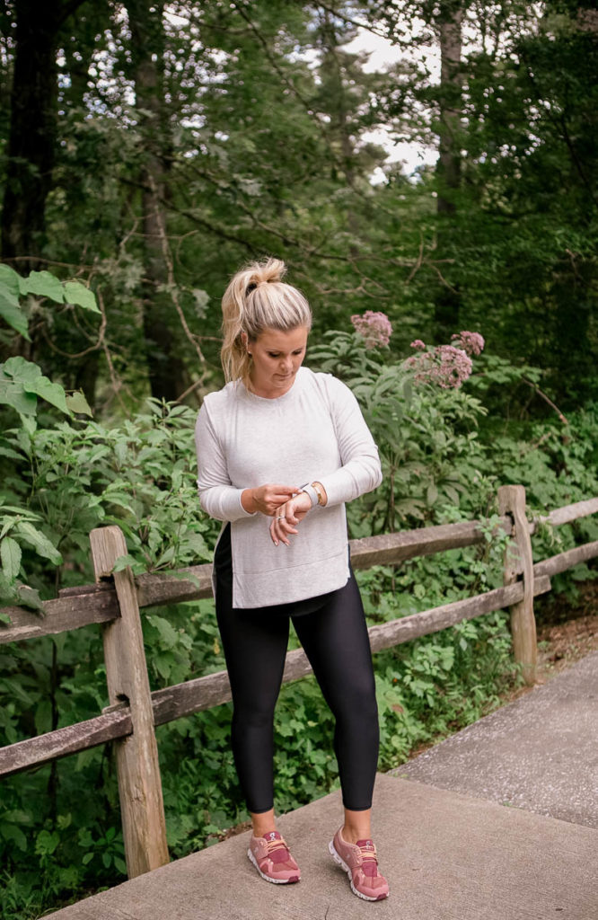 Athleisure outfit for fall on style blogger Cristin Cooper.