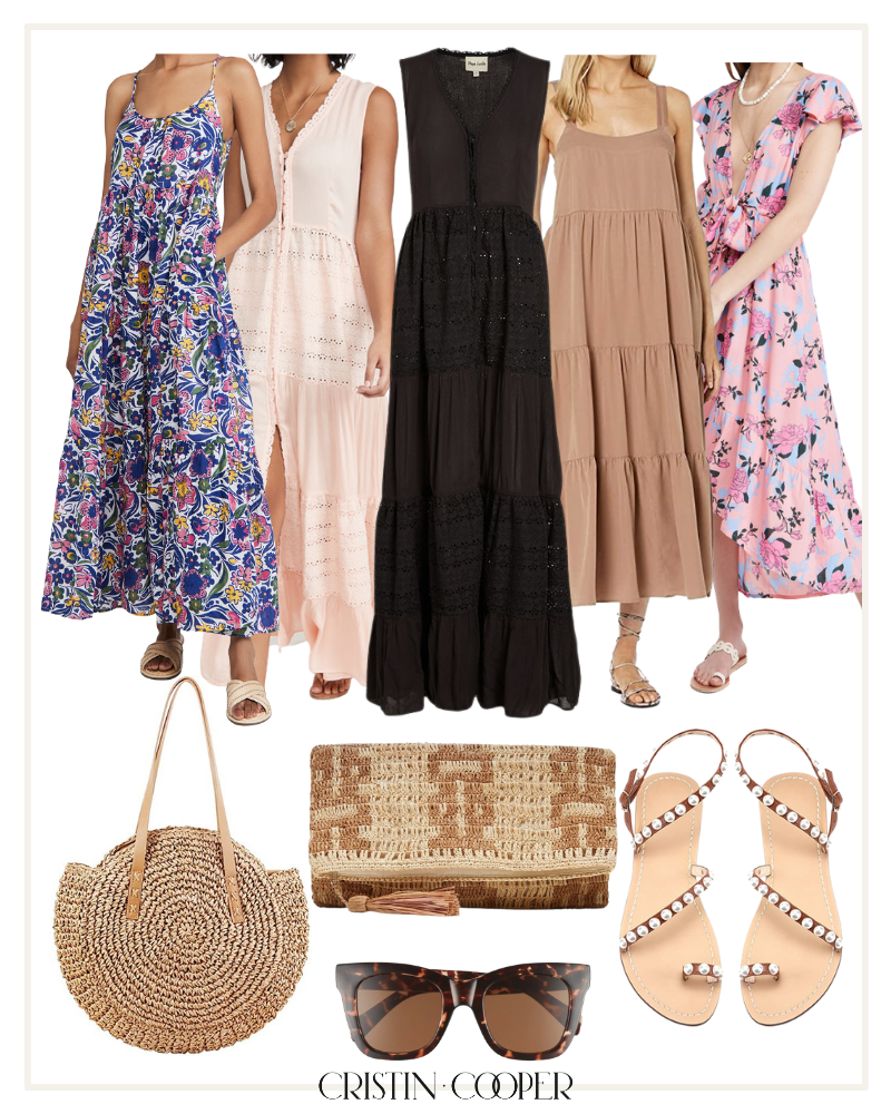 Spring break dresses and outfit inspiration
