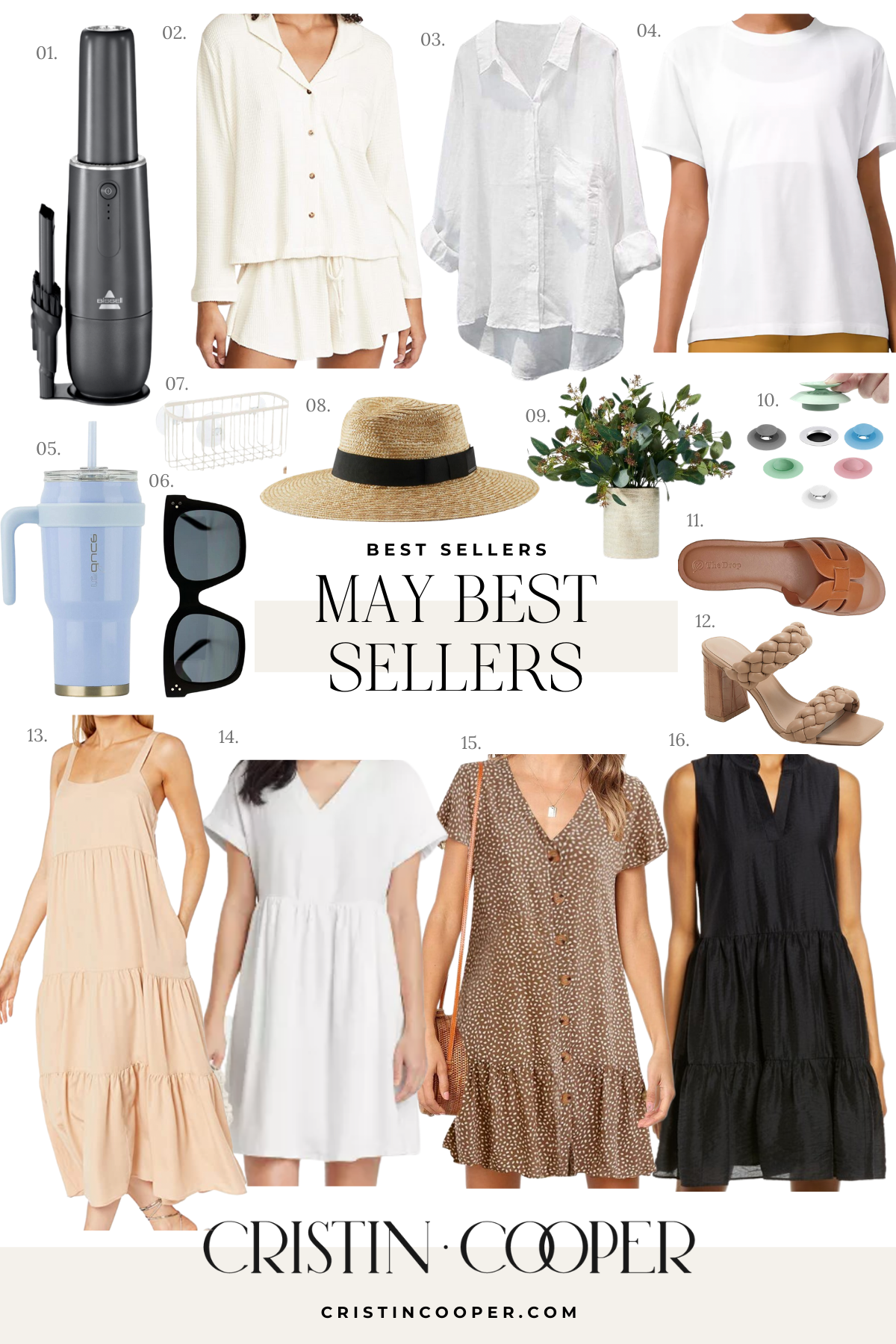 May Best Sellers Collage