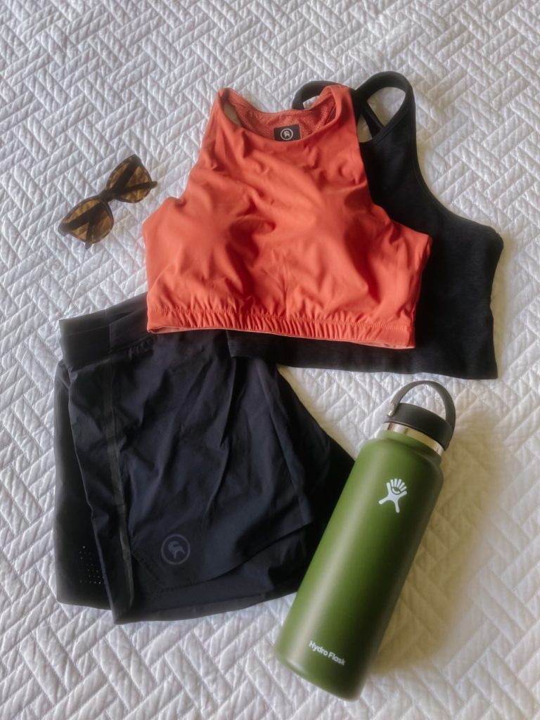 What to wear hiking in the summer.