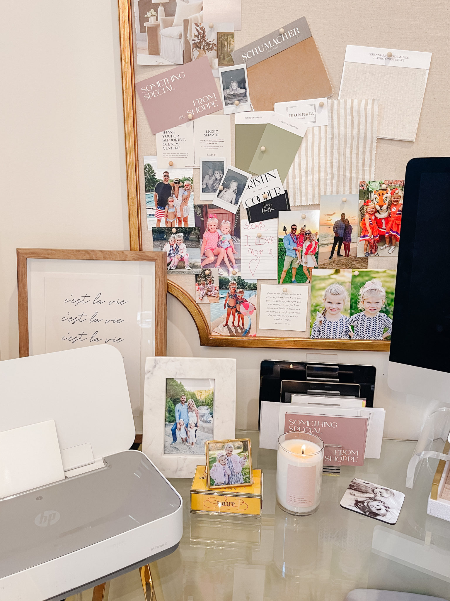 How to organize and print digital photos at home.